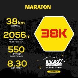 Brasov Marathon - alergare trail - maraton 38km