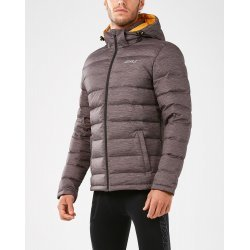 2XU - CLASSIX Insulation Jacket III - Charcoal/Micro Glitch Print