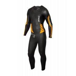 2XU - P:1 Propel Wetsuit - Black/Flame Orange - costum neopren