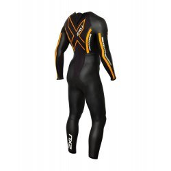 2XU - P:1 Propel Wetsuit - Black/Flame Orange