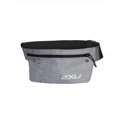 2XU - curea alergare cu buzunar depozitare - negru gri