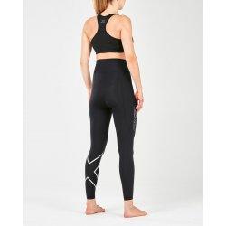 2XU - Colanti de compresie pentru femei Post-Natal Sport Comp Tights - Black Silver