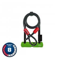 Abus - antifurt bicicleta - Ultra Mini 410/150HB 180 SH34 plus Cobra 10/120