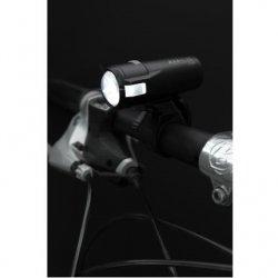 AXA - Lumini bicicleta fata (far fata) Greenline, 20 lux USB, 1 led - negru