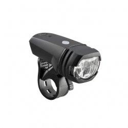 AXA - Lumina bicicleta fata (far fata) Greenline, 50 lux USB, 1 led - negru