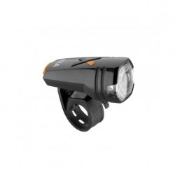 AXA - Lumini bicicleta fata (far fata) Greenline, 30 lux USB, 1 led - negru