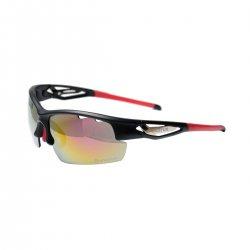 Bikefun Ochelari soare Fly negru-rosu