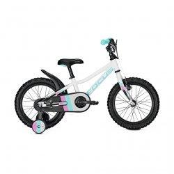 """Focus - bicicleta copii cu roti 16"""" - Raven Rookie 16 - Alba"""