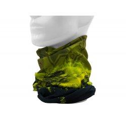 Instinct Necktube Black Mountain esarfa tip buff - negru verde