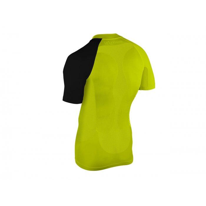 Instinct Sensation Ice tricou maneca scurta - galben negru