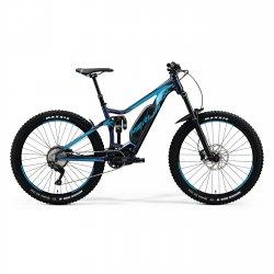 Merida eONE-SIXTY 500 - albastru-negru - bicicleta electrica MTB full suspension