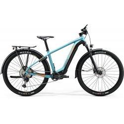 Merida eBIG.NINE 500 EQ - albastru-negru - bicicleta electrica MTB