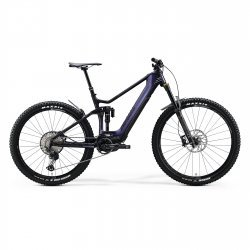 Merida eONE-SIXTY 8000 - mov-curcubeu - bicicleta electrica MTB full suspension