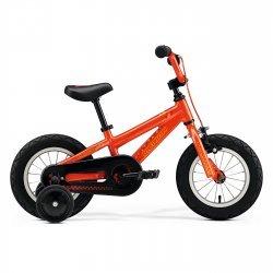 """Merida - bicicleta copii cu roti 12"""" - Matts J.12 - portocalie"""