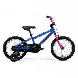 "Merida - bicicleta copii cu roti 16"" - Matts J.16 - albastru berry"