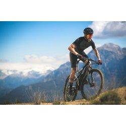 Merida NINETY-SIX 9. 9000 - negru metalic auriu - bicicleta MTB full suspension