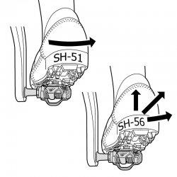 Placute MTB Shimano SH56