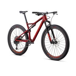Specialized - full suspension mountain MTB bike Epic Expert Carbon with 29'' wheels - Gloss Metallic Crimson/ Rocket Red