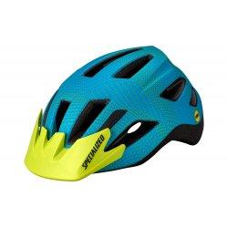 Specialized casca ciclism copii 7-10 ani cu lumina - Shuffle Youth LED MIPS - verde-albastru