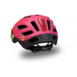 Specialized casca ciclism copii 7-10 ani cu lumina - Shuffle Youth LED MIPS - verde-roz