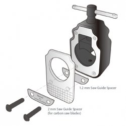 Topeak Unealta Taiere Furca Threadless Saw Guide TPS-SP26
