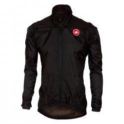 Castelli Squadra ER - jacheta pentru ciclism - neagra
