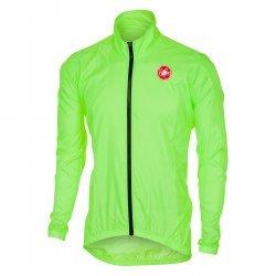 Castelli Squadra ER - jacheta pentru ciclism - galben fluo