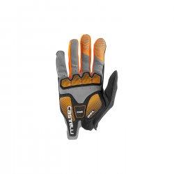 Castelli - manusi ciclism - Arenberg Gel Full Finger - gri inchis portocaliu