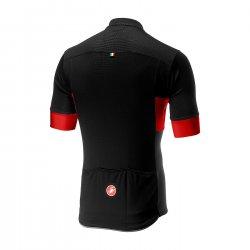 Castelli - tricou pentru ciclism - Prologo VI - negru-rosu