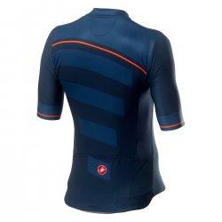 Castelli - tricou pentru ciclism - Trofeo - bleumarin