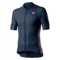 Castelli - tricou pentru ciclism - Entrata V - bleumarin