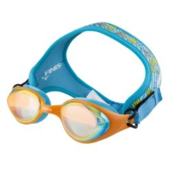 Finis Frogglez ochelari inot copii - albastru portocaliu