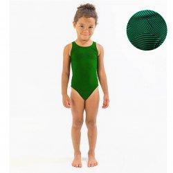 Finis - Costum de baie intreg Fete Bladeback - Verde Maze