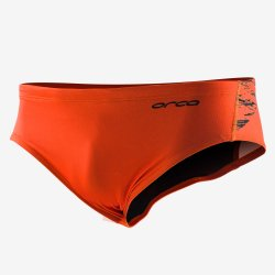 Orca - Slip inot barbati - portocaliu