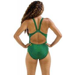 Finis - one piece swimsuit Bladeback - Maze Green