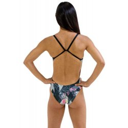 Finis - costum de baie intreg Openback Rotto - Granite
