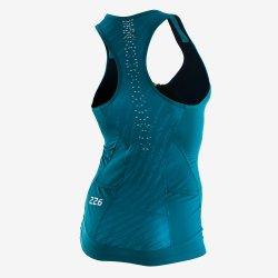Orca 226 Perform Top Sleeveless - top femei pentru triatlon - turquoise
