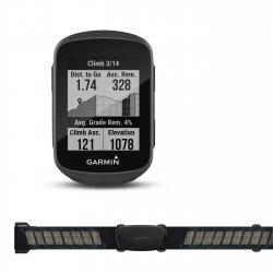 Garmin Edge 130 Plus - pachet HR cu centura de puls - ciclocomputer cu GPS