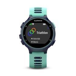Garmin Forerunner 735xt albastru-turcoaz - ceas cu GPS pentru alergare, bicicleta, inot, triatlon si alte sporturi