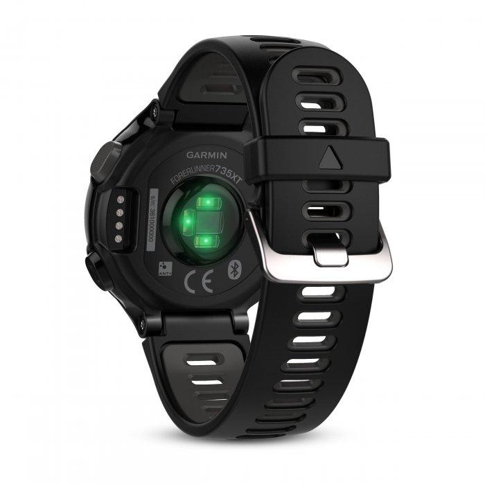 Garmin Forerunner 735xt negru-gri - ceas cu GPS pentru alergare, bicicleta, inot, triatlon si alte sporturi