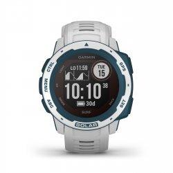 Garmin - Instinct Solar Surf edition - Cloudbreak - ceas inteligent cu GPS cu functii avansate pentru sport si incarcare solara