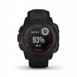 Garmin - Instinct Solar Tactical edition - negru - ceas inteligent cu GPS cu functii avansate pentru sport si incarcare solara