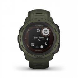 Garmin - Instinct Solar Tactical edition - verde Moss - ceas inteligent cu GPS cu functii avansate pentru sport si incarcare solara