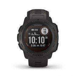 Garmin - Instinct Solar - negru Graphite - ceas inteligent cu GPS cu functii avansate pentru sport si incarcare solara