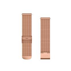 Garmin Quick Release 20 - Milanese roz auriu cu componente PVD roz auriu 18K