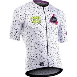 Northwave - Vibes - tricou pentru ciclism cu maneca scurta - alb