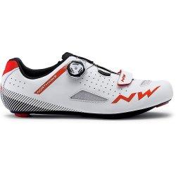 Northwave Core Plus - pantofi pentru ciclism sosea - alb rosu
