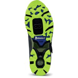 Northwave Spider Plus 2 - pantofi pentru ciclism mtb - negru verde