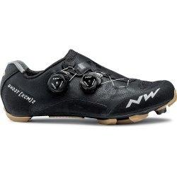 Northwave Ghost XCM 2 - pantofi pentru ciclism MTB - negru galben