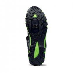 Northwave Escape Evo - pantofi pentru ciclism MTB All Mountain - negru verde